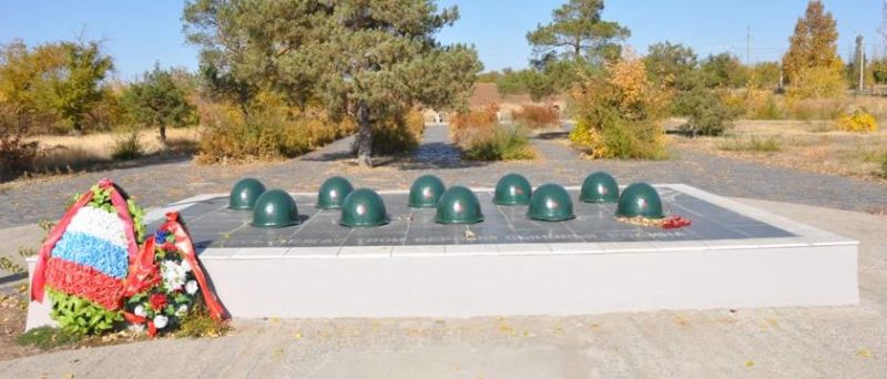 п. Городище. Братская могила воинов 62-й армии, погибших во время Сталинградской битвы.