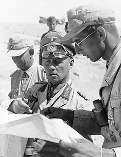 Эрвин Роммель в Египте. 1942 г.
