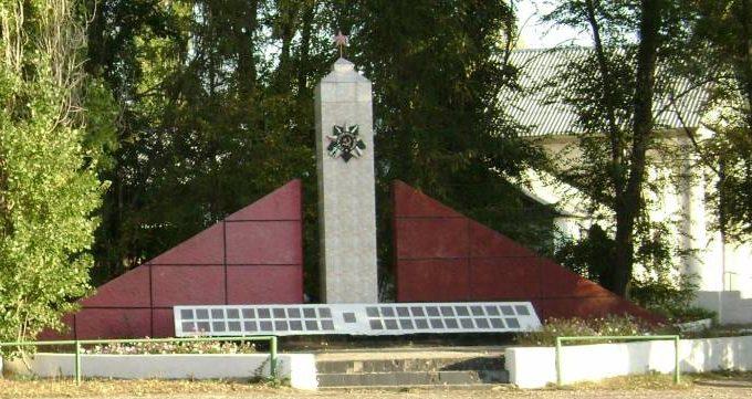 ст-ца. Упорниковская Нехаевского р-на. Памятник, погибшим в годы войны.