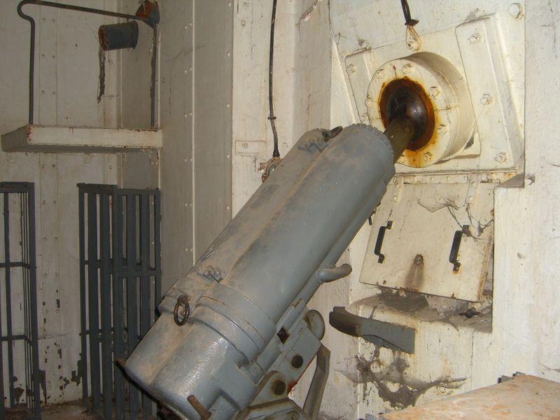 Один из 81-мм минометов.