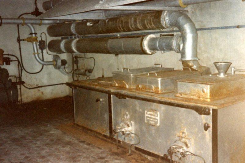 Кухня форта.
