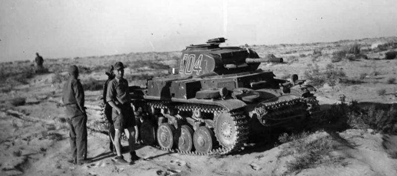 Немецкий корпус «Африка» в Египте. 1942 г.
