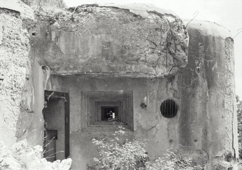 Блок №1 в годы войны и сегодня.