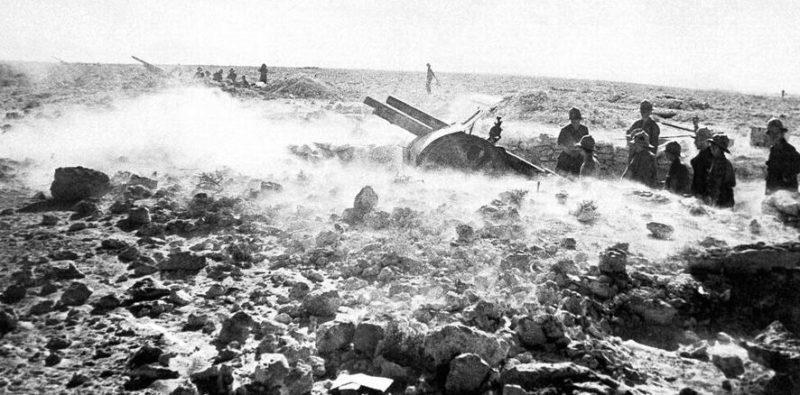 Итальянское подразделение в обороне. 1942 г.