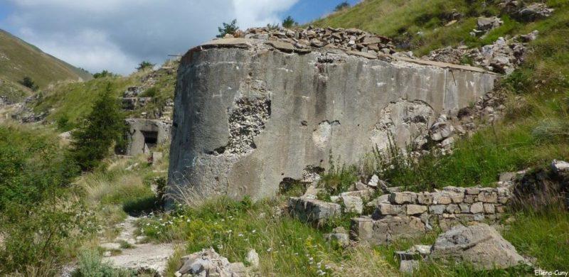Отдельные блоки форта.