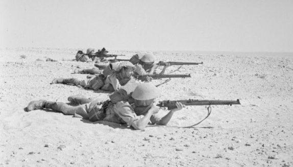 Английский пеший патруль. 1942 г.