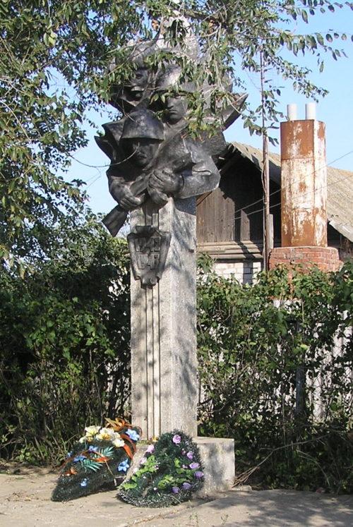 с. Россошки Городищенского р-на. Братская могила советских воинов, погибших в годы войны.