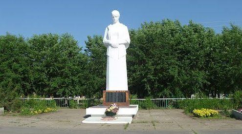ст-ца Островская Даниловского р-на. Памятник советским воинам.