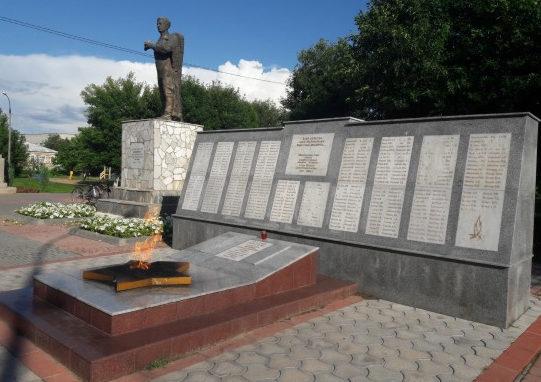 ст-ца. Преображенская Киквидзенского р-на. Мемориал «Вечный огонь».
