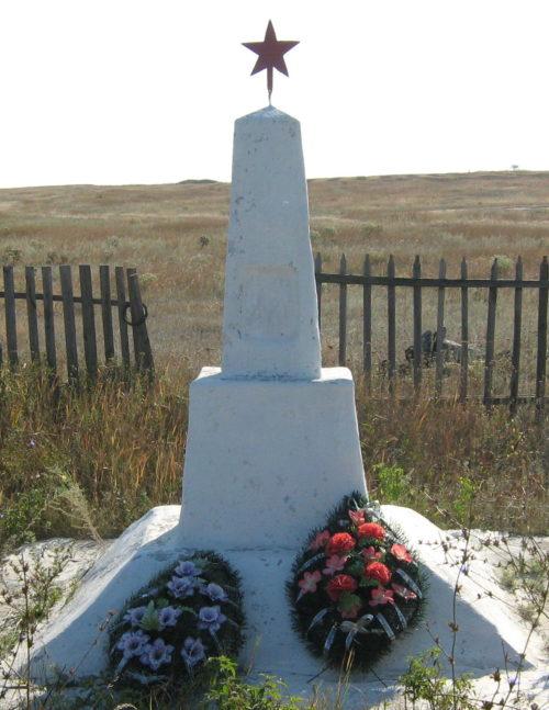 х. Большая Донщинка Клетского р-на. Братская могила советских воинов, погибших в годы войны.