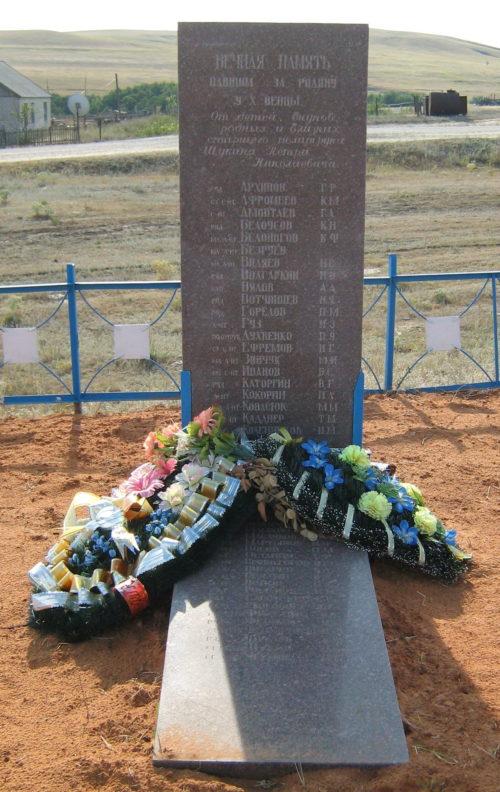 х. Венцы Клетского р-на. Братская могила советских воинов.
