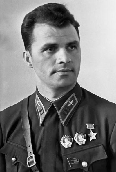 Герой Советского Союза майор Супрун. 1940 г.