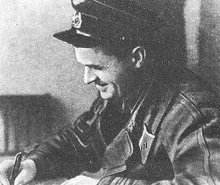 Подполковник Супрун перед вылетом на фронт 1941 г.