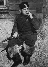 Командир партизанского отряда Федоров. 1942 г.