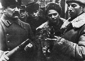 Федоров в отряде. 1943 г.