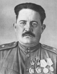 Генерал-майор Федоров. 1944 г.
