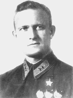 Герой Советского Союза майор Хрюкин. 1939 г.