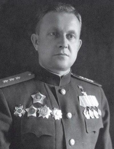 Генерал Хрюкин. 1944 г.