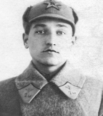 Курсант Николай Челноков. 1929 г.