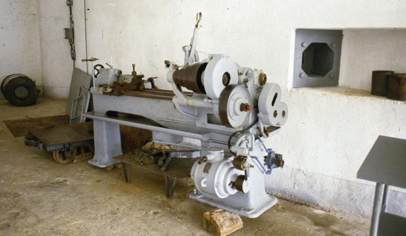 Механическая мастерская форта.
