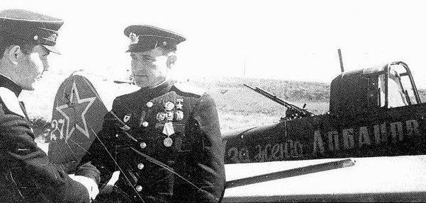 Герой Советского Союза Челноков. 1943 г.