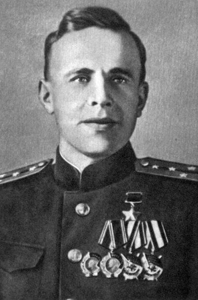 Герой Советского Союза капитан-лейтенант Шабалин. 1944 г.