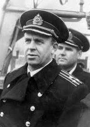 Капитан 1-го ранга Шабалин. 1955 г.