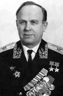 Контр-адмирал Шабалин. 1970 г.