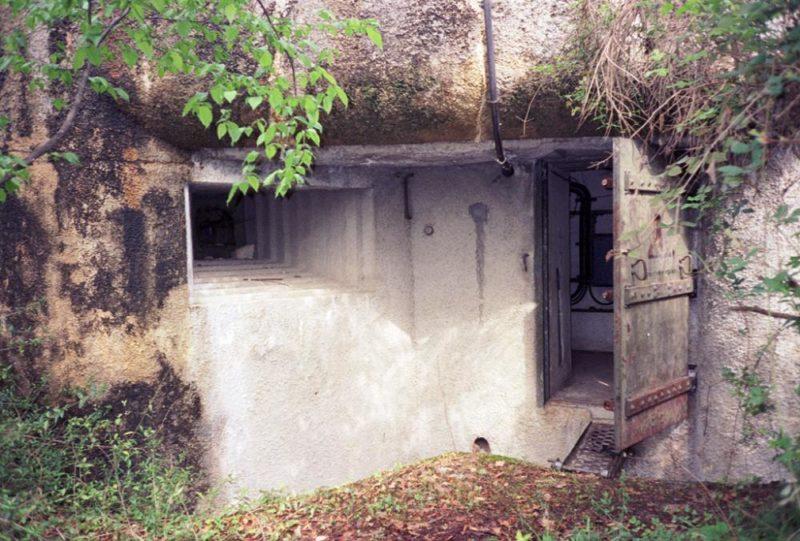 Блок №1 во время войны и сегодня.