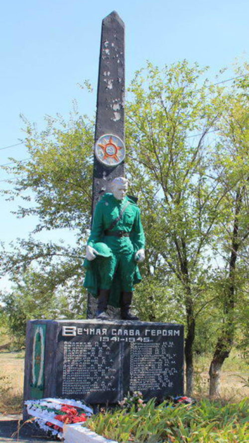 г. Котельниково. Братская могила 38 советских воинов.