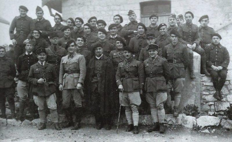 Гарнизон крепости во время войны.