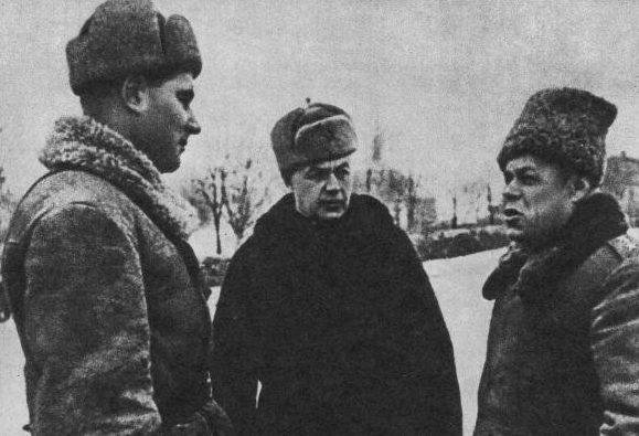 Рыбалко, Митрофанов и Якубовский. 1943 г.