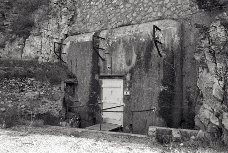 Блок №1 во время войны.