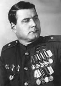 Генерал-майор танковых войск Якубовский. 1945 г.