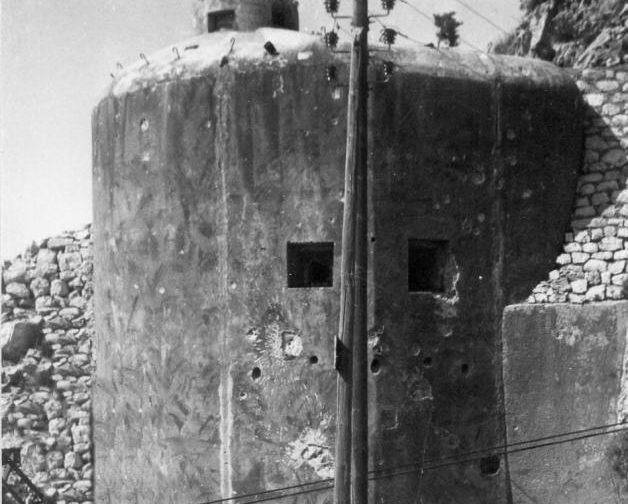 Блок №4 во время войны.