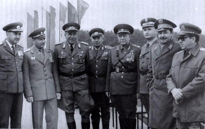 Маршал Якубовский. 1967 г.