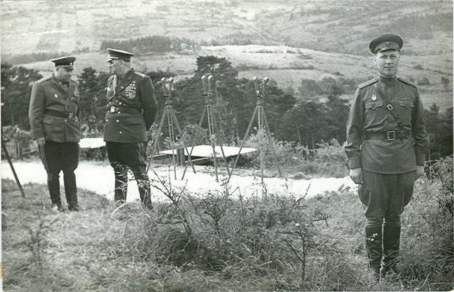 Маршал Якубовский на Доуповском полигоне. 1968 г.