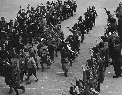 Эвакуация детей из Токио. 1944 г.