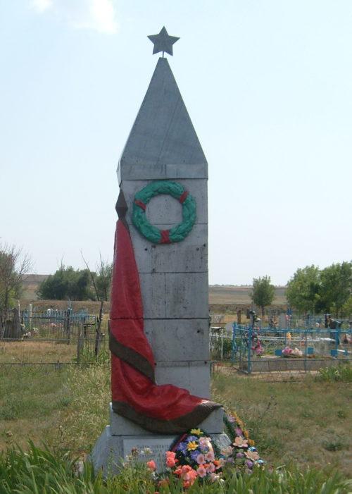 с. Купцово Котовского р-на. Братская могила советских воинов.