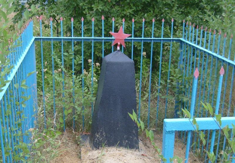 с. Неткачево Котовского р-на. Братская могила советских воинов.
