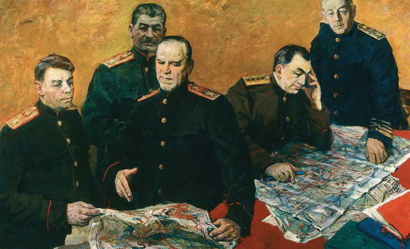 Члены Ставка Верховного Главнокомандования.
