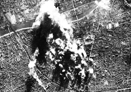 Бомбардировка Лондона.