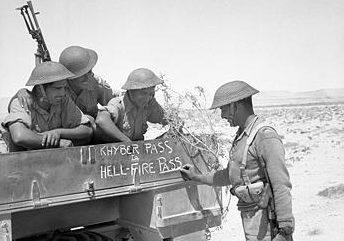 Солдаты 4-й индийской дивизии британской армии.