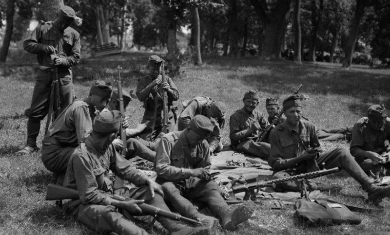 Венгерские оккупанты на территории СССР.