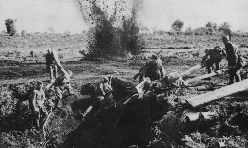 Бои на окраине Орла. Сентябрь 1941 г.