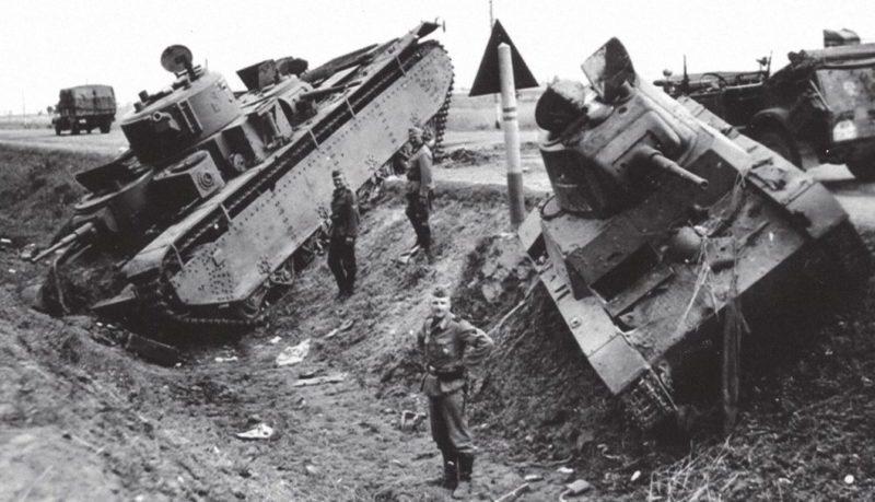 Поле танкового боя у Дубно.