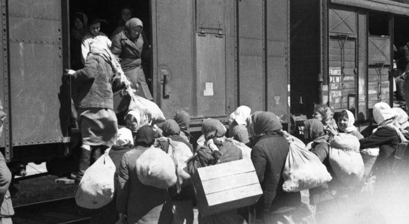 Эвакуация населения.