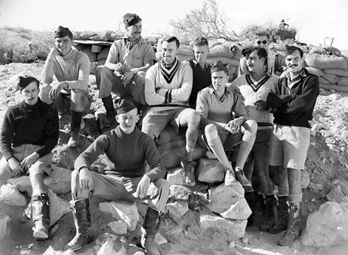 Пилоты из 3-й эскадрильи РАФ в Западной пустыне, Джеравла. 9 декабря 1940 г.