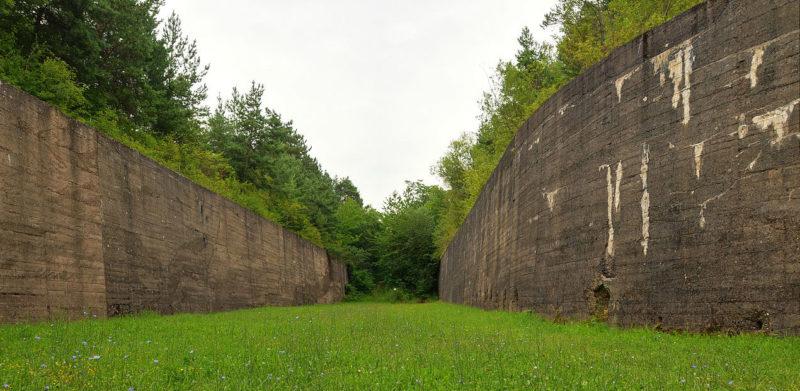 Крепостные стены.