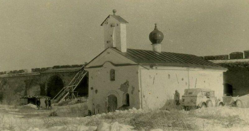 Церковь Андрея Стратилата. 1941 г.